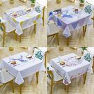 桌布 防水防燙防油免洗網紅ins正方形PVC餐桌墊家用四方八仙桌 全館免運