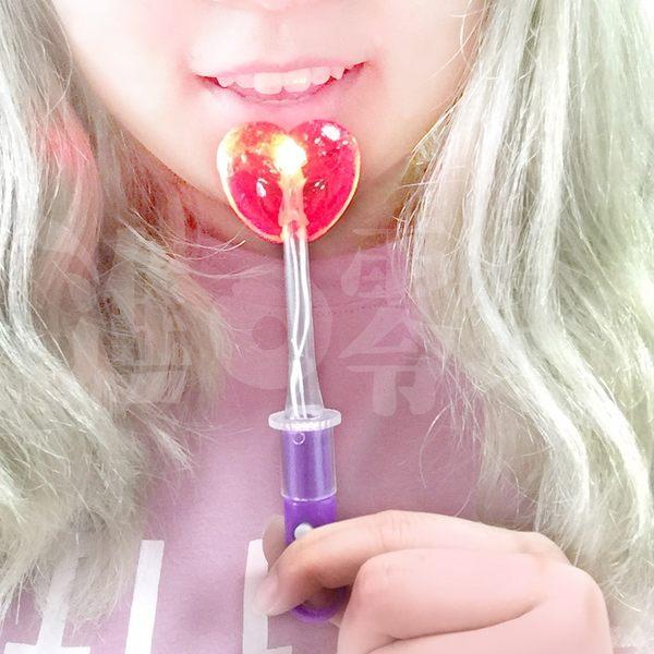 MS LED 發光棒棒糖 草莓口味 D50
