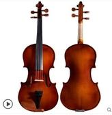 小提琴手工实木初学者小提琴成人儿童考级专业级小提琴入门演奏乐器LX 嬡孕哺