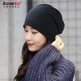 頭巾帽帽子男潮秋冬季薄款包頭帽女套頭帽夏季棉帽月子帽睡帽頭巾堆堆帽 喵小姐