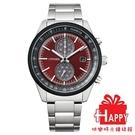 ◆CITIZEN◆ 星辰 東京·紅限量版 光動能計時腕錶 CA7034-96W 紅X銀