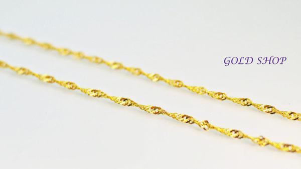 ╭☆ gold shop ☆╯義大利 585 項鍊 長度45公分+3公分延長鍊 單條 任選 [ kn 002 ]
