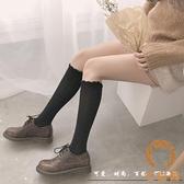 及膝襪花邊長筒襪子女薄款小腿襪潮日系JK學生中筒襪【宅貓醬】