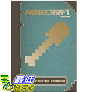 [104美國直購] 當個創世神 Minecraft: Construction Handbook An Official Mojang Book Hardcover
