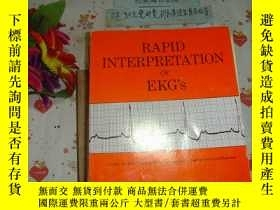 二手書博民逛書店英文原版《rapid罕見interpretation of EK