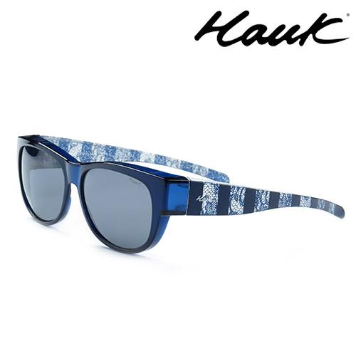 HAWK偏光太陽套鏡(眼鏡族專用)HK1006-24