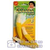 Baby Banana 嬰幼兒學習軟性香蕉牙刷(1-2歲用)[衛立兒生活館]