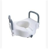 C615升級款-帶扶手增高11.5cm老人坐便椅加高器移動馬桶增高墊