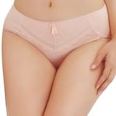 思薇爾-輕沁舒系列M-XXL蕾絲中腰三角褲(杏桃膚)