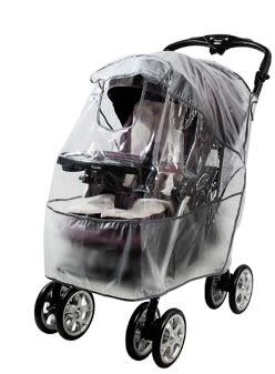 【ViVibaby】加大型-嬰兒車防雨罩L  U04022L