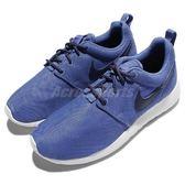 Nike 休閒鞋 Roshe One GS 藍 深藍 白底 運動鞋 女鞋 大童鞋【PUMP306】 599728-420