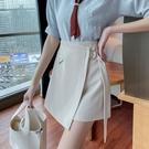 VK精品服飾 韓國風一片式不規則氣質半身裙單品短裙