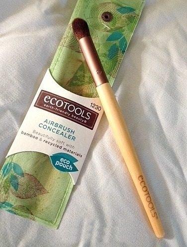 【愛來客 】美國直送~新款古銅色Ecotools Airbrush Concealer 1230# 遮瑕刷化妝刷
