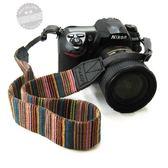 相機背帶時尚個性單反肩帶背帶 柔軟減壓彩色加寬 單眼相機背帶肩帶 1件免運