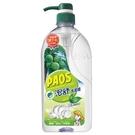 泡舒綠茶洗潔精1000g 壓瓶裝【愛買】