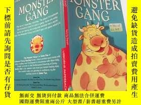 二手書博民逛書店the罕見monster gang:怪物幫:Y200392