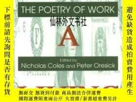 二手書博民逛書店【罕見】For A Living: The Poetry Of