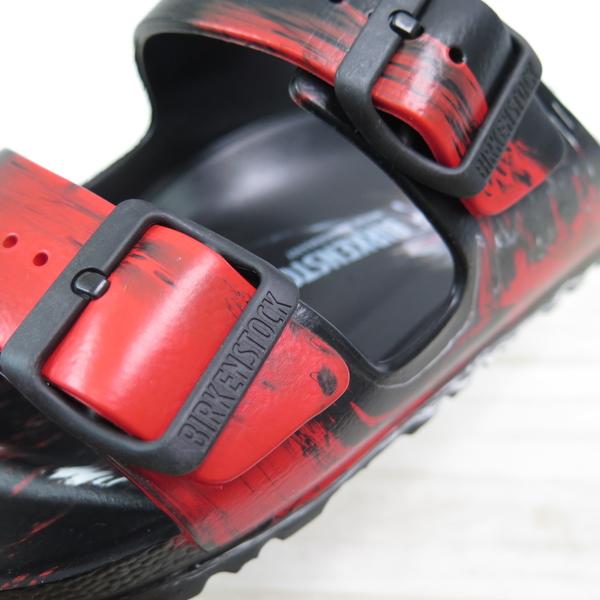 Birkenstock 勃肯 Arizona EVA 拖鞋 防水 女款 1019382 黑紅漸層【iSport愛運動】