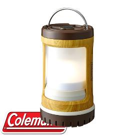 【Coleman 美國 BATTERYLOCK 緊湊型營燈〈天然木紋〉】CM-31273/營燈/露營燈/手提燈
