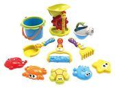 浴室洗澡玩沙挖沙漏花灑戲水工具寶寶兒童沙灘玩具套裝大號2-3-6igo【蘇迪蔓】