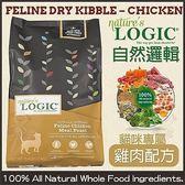 *King Wang*LOGIC自然邏輯天然糧《全貓種低敏雞肉》15.4磅-低過敏