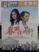 影音專賣店-U03-741-正版DVD-台劇【春風伴我行 35集10碟】-林韋君