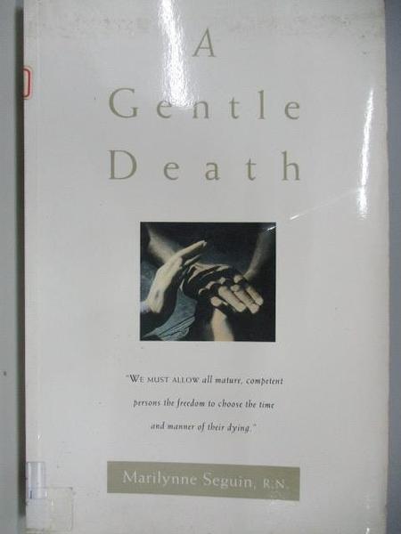 【書寶二手書T7/原文小說_DCF】A Gentle Death