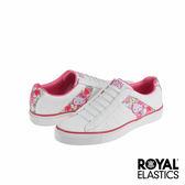 Royal Elastics x Hello Kitty Cruiser 潮流休閒鞋-白x熱帶粉紅印花