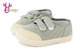 韓版休閒板鞋 中小童 純色軟底帆布鞋 K7540#灰色◆OSOME奧森童鞋