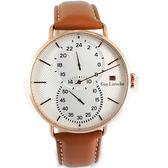 姬龍雪Guy Laroche Timepieces獨立時尚腕錶 GW2012-06