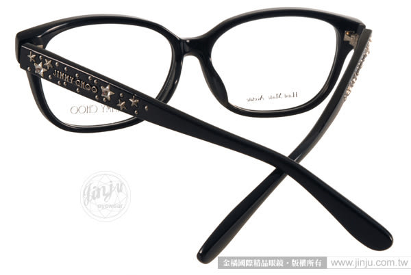 JIMMY CHOO 光學眼鏡 JC4009F 29A (黑) 奢華時尚優雅經典款 # 金橘眼鏡