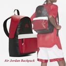 Nike 後背包 Air Jordan Backpack 黑 紅 男女款 喬丹 雙肩背 運動休閒 【ACS】 JD2113010AD-001