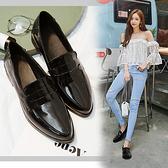DE shop - 英倫風小皮鞋牛津鞋 - HF-4230