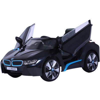BMW i8 原廠授權 雙驅兒童電動車 黑色 A0011