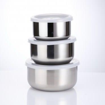 HOLA  不鏽鋼調理碗3件組