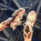 MG 內增高鞋老爹鞋女韓版原宿百搭厚底內增高小白鞋子