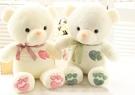 【75公分】心心相印泰迪熊 情侶熊 大熊玩偶 愛心熊 抱枕 情人節 告白 聖誕節交換禮物
