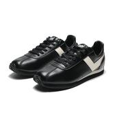 PONY 阿甘鞋 全黑白logo 皮革  (布魯克林)  71M1RC61BK