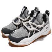 Nike 休閒慢跑鞋 Wmns Nike City Loo 灰 白 膠底 襪套式 運動鞋 女鞋【PUMP306】 AA1097-100