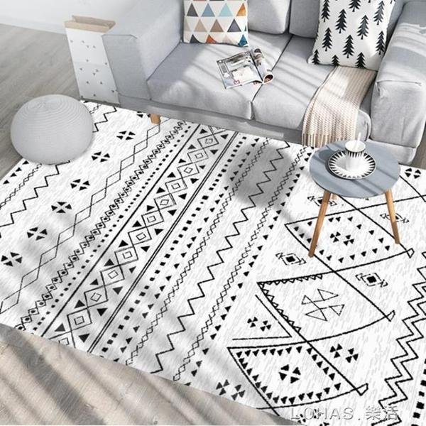 ins北歐地毯客廳現代簡約臥室沙發床邊地墊/摩洛哥風滿鋪家用定制 樂活生活館