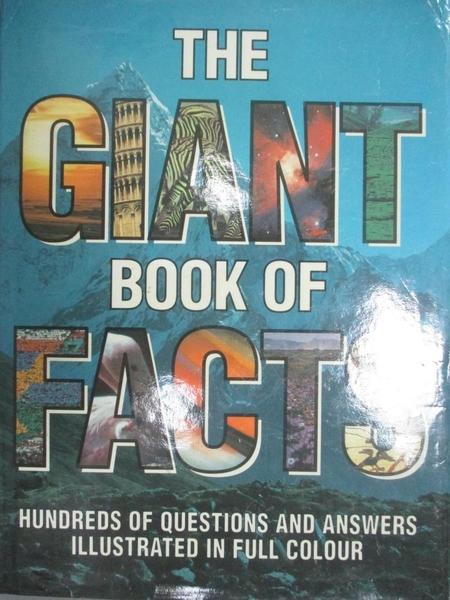 【書寶二手書T3/科學_EPX】The Giant book of Facts