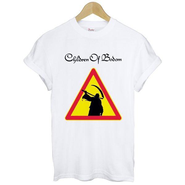 Children Of Bodom-Reaper短袖T恤 白色 死神之子樂團COB旋律死金樂團t-shirt特價290
