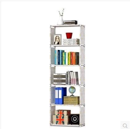 學生宿舍簡易書架創意型桌面鋼管置物架學生家居多功能經濟型書櫃