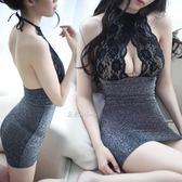 情趣內衣女開檔露乳激情套裝極度誘惑性感夜店短裙緊身旗袍透視裝【萬聖節鉅惠】