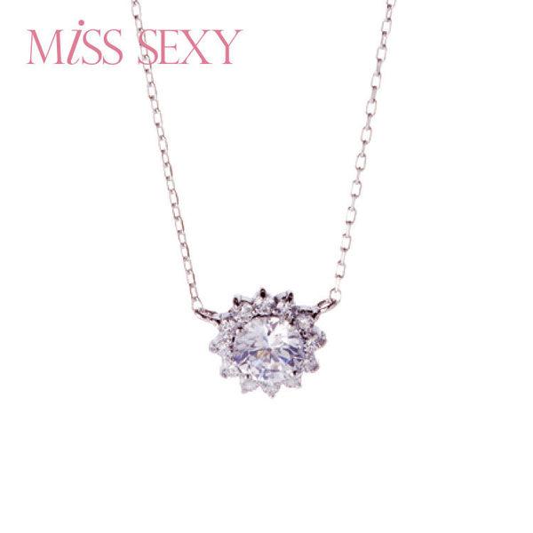 【MISS SEXY】MN303 / ELEGANT NECKLACE 將愛典藏項鍊系列 - 雪國精靈銀飾項鍊