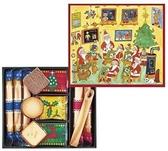 聖誕節限定版日本YOKU MOKU 雪茄蛋捲+夾心餅乾 26入禮盒 現貨+預購