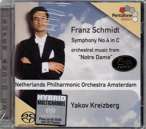 【停看聽音響唱片】【SACD】Schmidt.Symphony No.4.Noter Dame.NedPho.Kreizberg