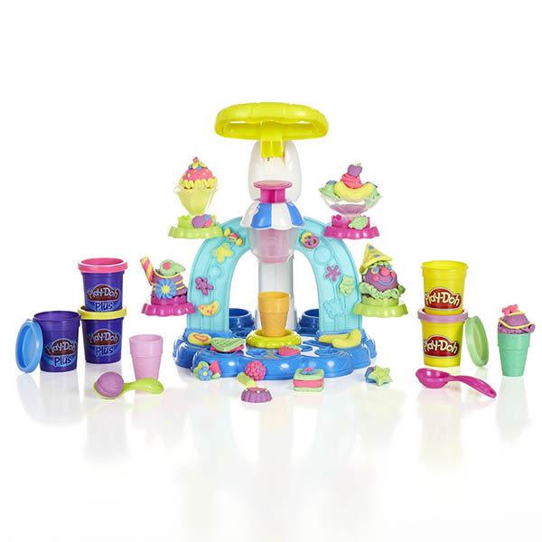 黏土 培樂多Play-Doh 創意DIY 聖代冰淇淋遊戲組 B0306