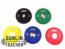 -槓鈴老師健身器材- 客製化 PU 競技槓片  PLATES 150KG套裝組 重量訓練 健身器材
