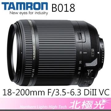 TAMRON 18-200mm F/3.5-6.3 DiII VC